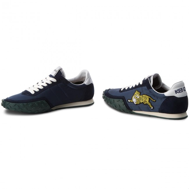 4c3c66273caf Sneakers KENZO - F865SN122F54 Bleu Marine 76 - Sneakers - Low shoes ...