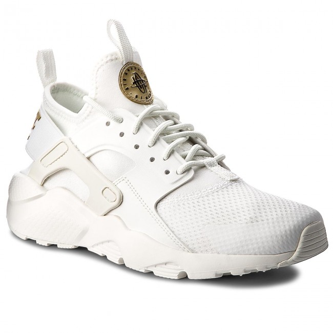 661873b3cc33 Shoes NIKE. Air Huarache Run Ultra (GS) 847568 102 Summit White Metallic  Gold