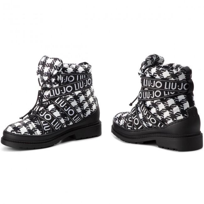 Boots LIU JO - Alison 02 S68017 TX019 Black White 00054 - Boots ... d5d589ffa09