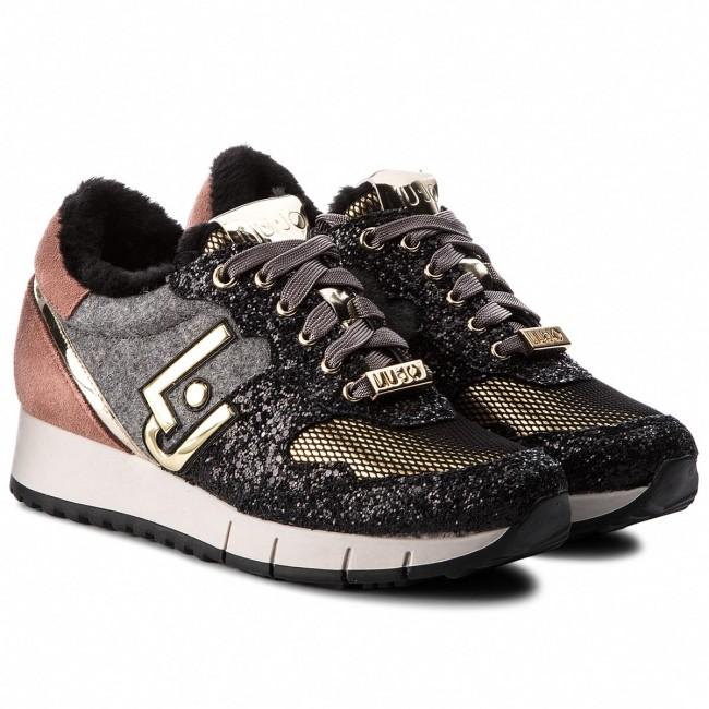 Onza Albardilla Intacto  Sneakers LIU JO - Gigi 02 B68023 TX012 Black/Rose S19B1 - Sneakers - Low  shoes - Women's shoes | efootwear.eu