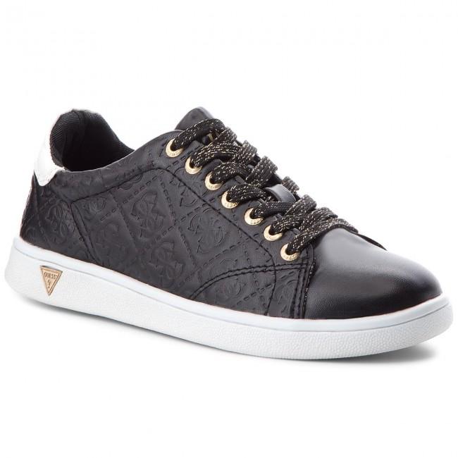 FLUPE3 ELE12 Sneakers BLACK GUESS Sneakers BLACK FLUPE3 GUESS ELE12 Sneakers EpqprB