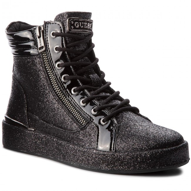 3398e0041 Sneakers GUESS - FLVND3 FAM12 BLACK - Sneakers - Low shoes - Women's ...