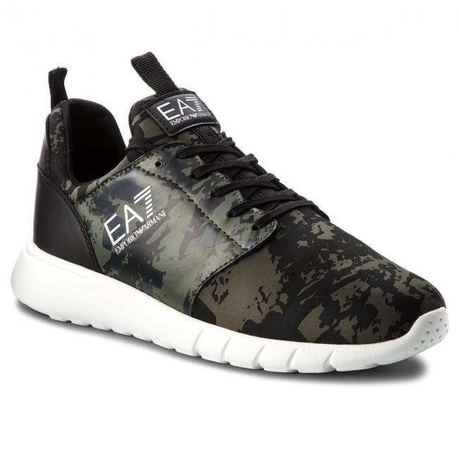 64e49b745d Sneakers EA7 EMPORIO ARMANI - X8X010 XK010 A001 Camo Print Green ...