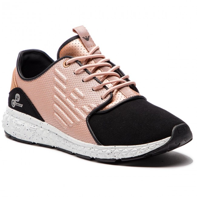 8c00559072 Sneakers EA7 EMPORIO ARMANI - X8X013 XK016 A797 Rose Gold - Sneakers ...