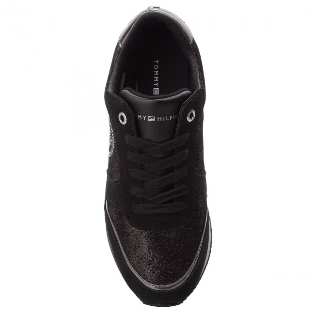 Sneakers TOMMY HILFIGER - Stud City Snea FW0FW03229 Black 990 - Sneakers -  Low shoes - Women s shoes - www.efootwear.eu 45e63bca9b