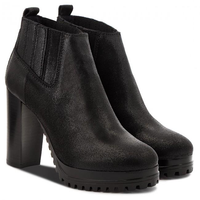 faf781f8 Boots TOMMY JEANS - Metallic Heeled Ankl EN0EN00251 Black 990 ...