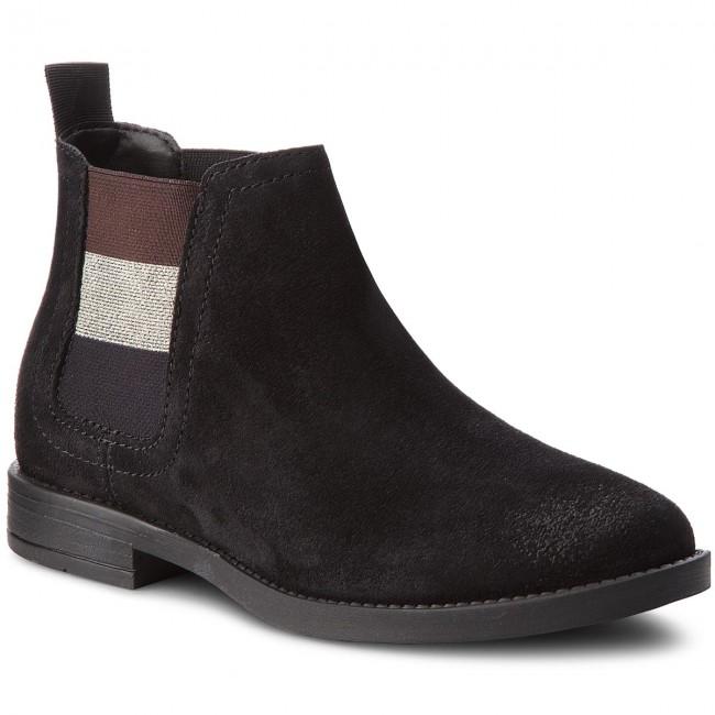 07a5e49d2 Ankle Boots TOMMY JEANS - Essential Chelsea Bo EN0EN00305 Black 990 ...