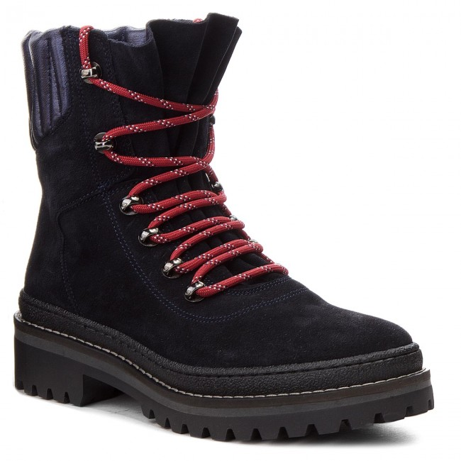 a12de8b6 Hiking Boots TOMMY HILFIGER - Modern Hiking Boot Suede FW0FW03048 ...