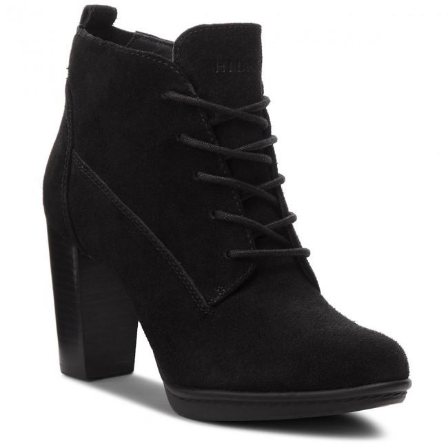 68f4beac3 Boots TOMMY HILFIGER - Basic Lace Up Heel B FW0FW03573 Black 990 ...
