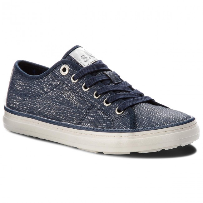 Turnschuhe S.OLIVER - 5-23640-20 Navy/Silver 894 yhQQQgkT