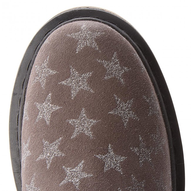 Tamaris 25433 Grey Elastic Ankle Star 209 1 Sides Boots 30 wPkn0O