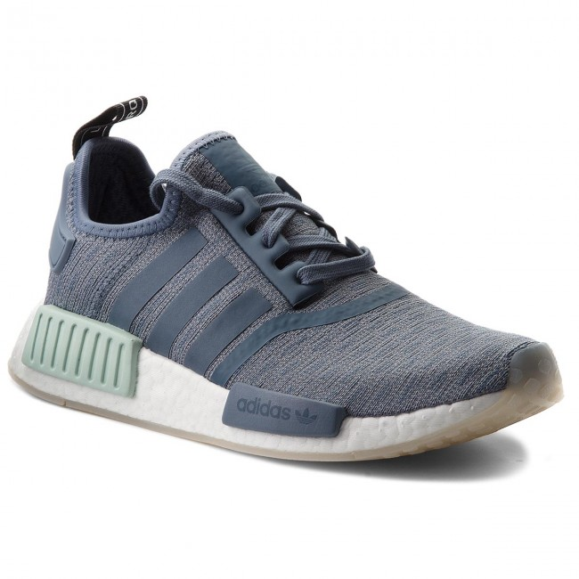 bf2304eb6 Shoes adidas - Nmd R1 W CQ2013 Steel Steel Cloud White - Sneakers ...