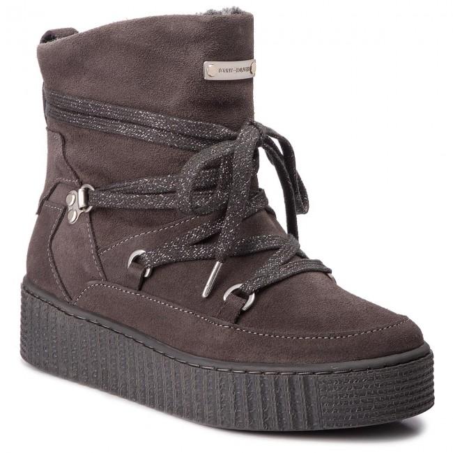 c090a986eeea Boots TOMMY HILFIGER - Cozy Warmlined Suede FW0FW03437 Steel Grey ...