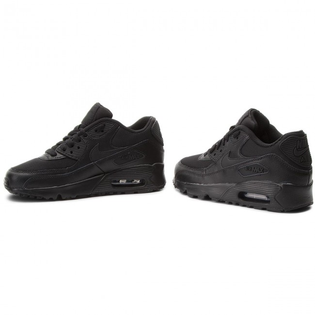 388e5e8f16f40a Shoes NIKE - Air Max 90 Mesh (Gs) 833418 001 Black Black - Sneakers ...