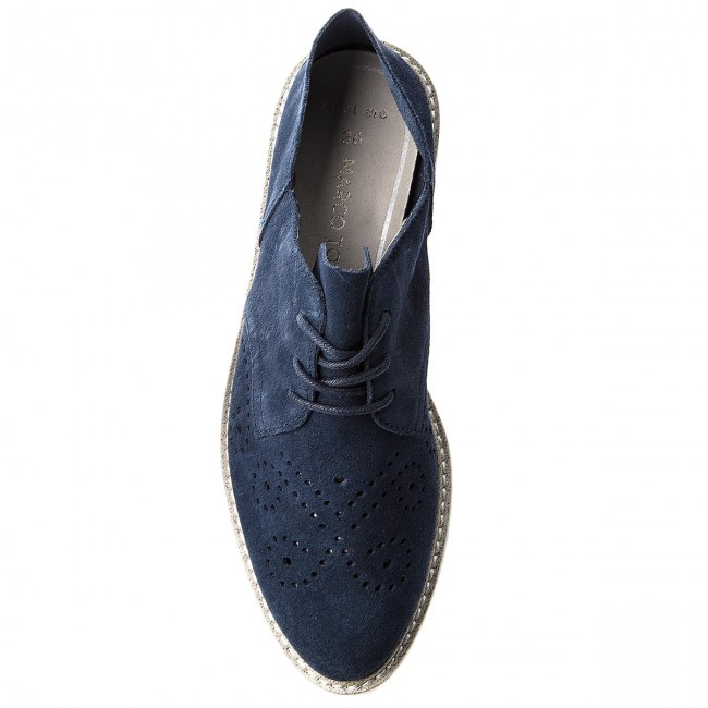 Oxfords Marco Tozzi - 2-23621-30 Navy 805 9HrZdM