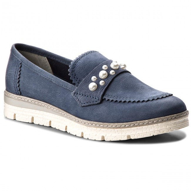 Shoes MARCO TOZZI - 2-24712-20 Navy Antic 892 - Flats - Low shoes ... be9d46fe2b