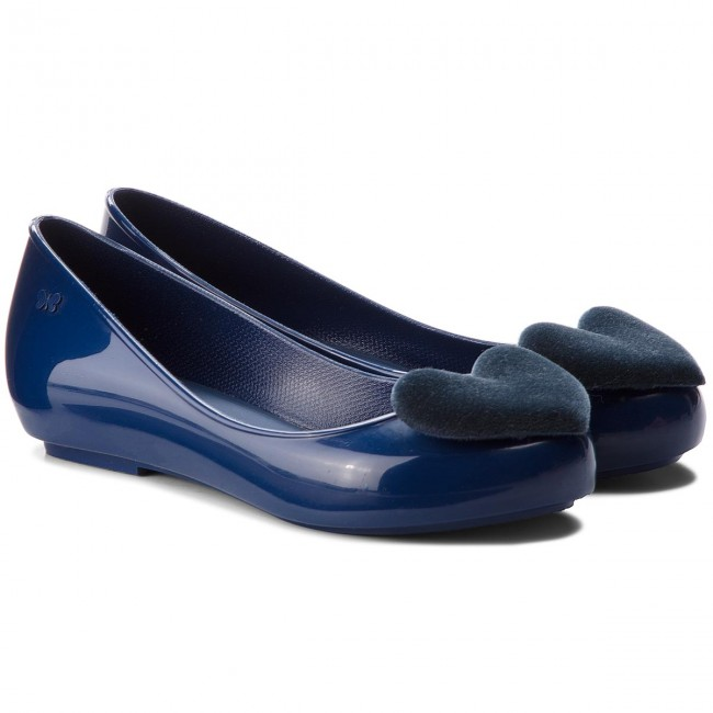 Ballerinas ZAXY - New Pop Heart Fem 82540 Navy 90036 BB285021 02064 z0AsfzG4Ua