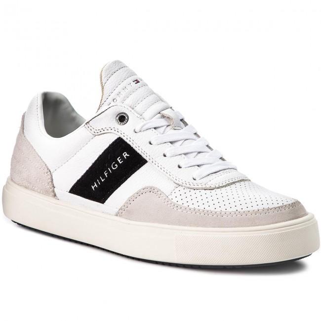 ac51dc78ec7b3 Sneakers TOMMY HILFIGER. Lightweight Material Mix Low Cut FM0FM01706 White  100