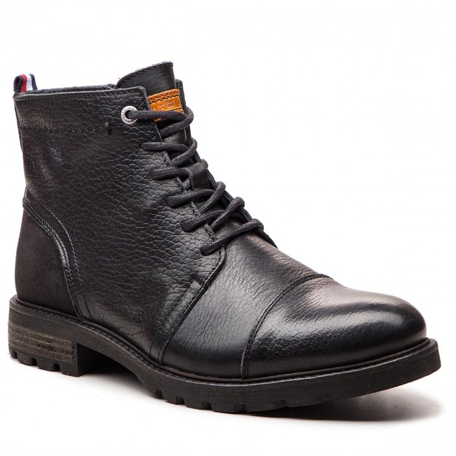 2c31c47928027 Knee High Boots TOMMY HILFIGER. Winter Material Mix FM0FM01756 Black 990