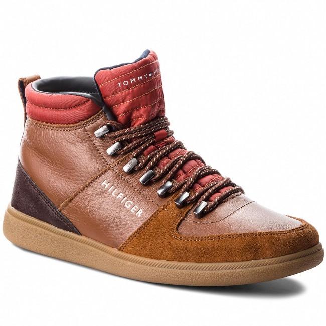 d1c136e69caf3 Boots TOMMY HILFIGER - Core Hiking Inspired FM0FM01836 Cognac 606 ...