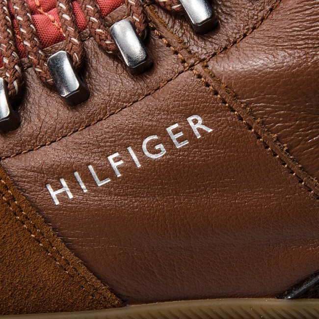 e6ce5dab3dc6 Boots TOMMY HILFIGER - Core Hiking Inspired FM0FM01836 Cognac 606 ...