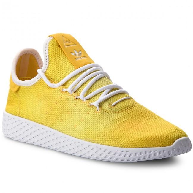 Shoes adidas - Pw Hu Holi Tennis Hu DA9617 Yellow Ftwr White Ftwr ... 1abd2b58e96
