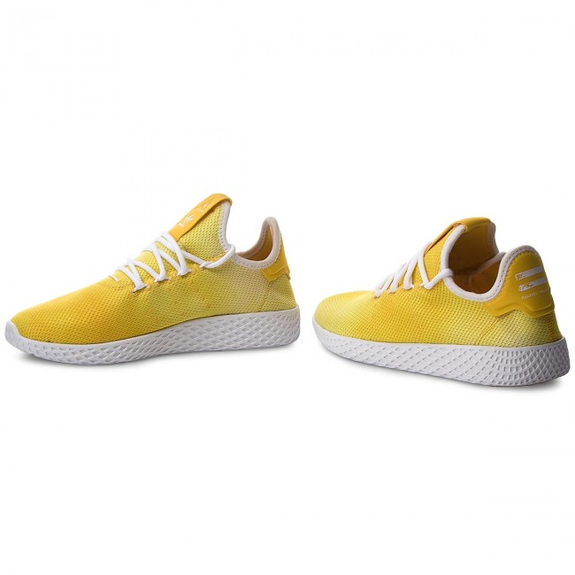 13b2befa6 Shoes adidas - Pw Hu Holi Tennis Hu DA9617 Yellow Ftwr White Ftwr White
