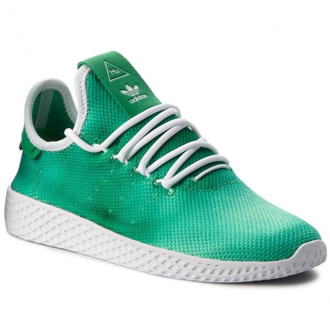 5417d1a68d2 Shoes adidas - Pw Hu Holi Tennis Hu DA9619 Green Ftwr White Ftwr ...