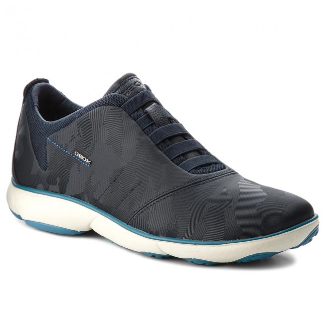 e0cc9c349d1 Shoes GEOX - U Nebula F U62D7F 000VD C4002 Navy - Casual - Low shoes ...