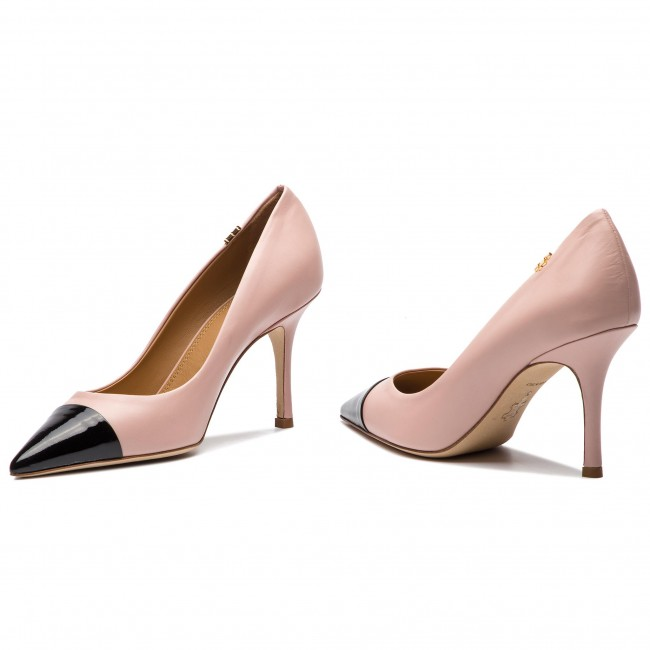 e8f6310dff1b1 Stilettos TORY BURCH - Penelope 85mm Cap-Toe Pump 51437 Sea Shell  Pink Perfect