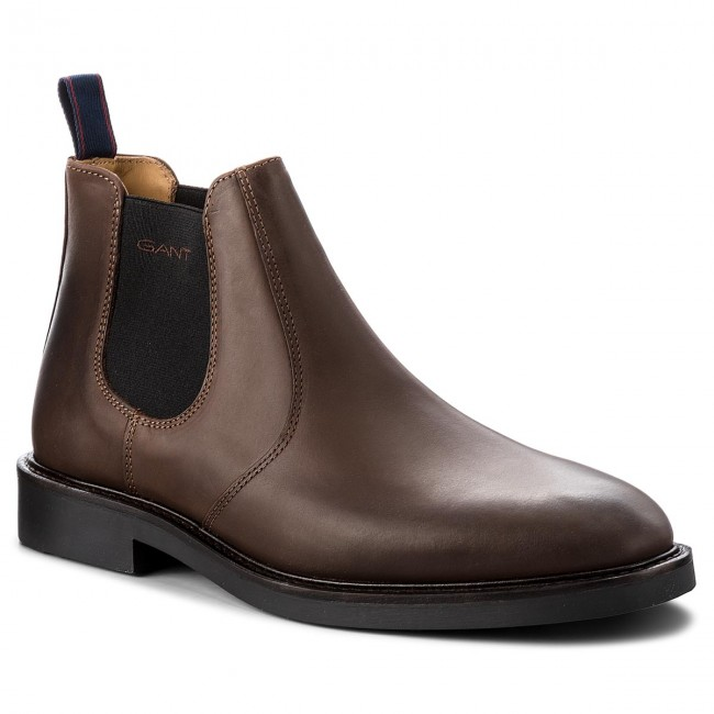 264b7c1805 Ankle Boots GANT - Spencer 17651886 Dark Brown G46 - Chelsea boots ...