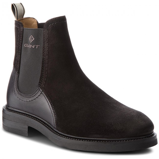 68669fc19a7 Ankle Boots GANT - Martin 17653905 Black G00 - Chelsea boots - High ...