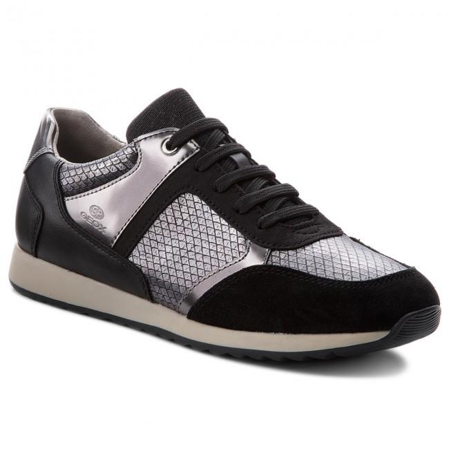 Sneakers GEOX - D Deynna C D846FC 004AU C9999 Black 5Uz2CXZ