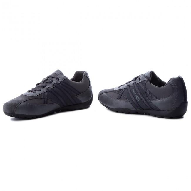 05411 Ravex B U Geox C9004 U743fb Anthracite Sneakers uTl35FJcK1