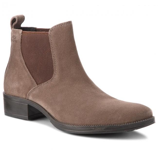 Ankle Boots GEOX - D Laceyin C D84BFC 00023 C6004 Chestnut - Elastic ... 2da29f106b4