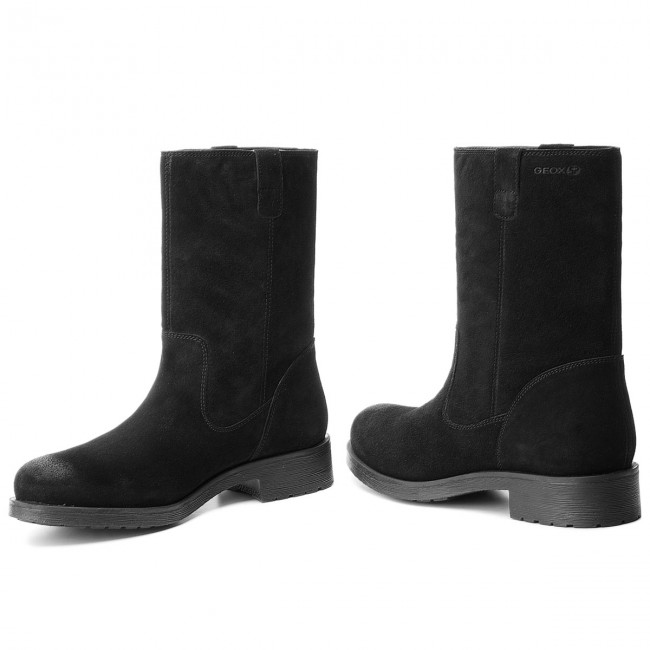 Sindicato operador Asistente  Boots GEOX - D Rawelle B D846RB 00023 C9999 Black - Boots - High boots and  others - Women's shoes | efootwear.eu