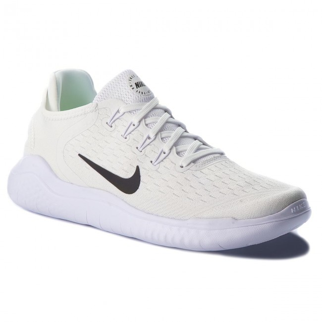 b382be6e824 Shoes NIKE - Free Rn 2018 942836 100 White Black - Indoor - Running ...