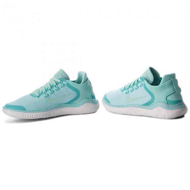 ab07ad685dc5 Shoes NIKE - Free Rn 2018 Sun AH5208 300 Island Green Igloo Vast Grey