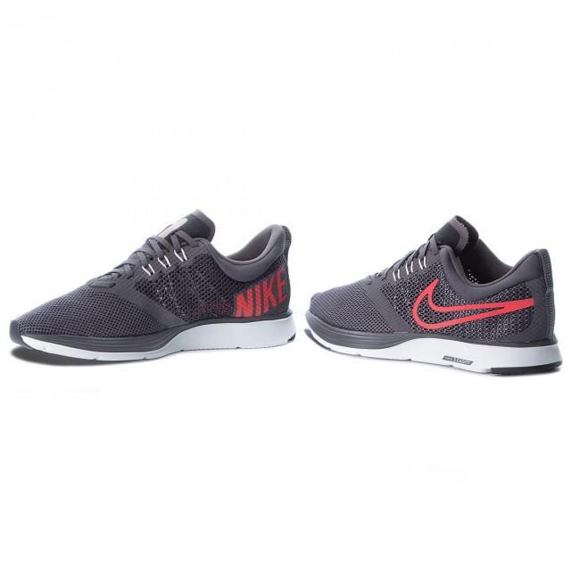 1022ef1635f0 Shoes NIKE - Zoom Strike AJ0189 004 Thunder Grey Bright Crimson ...