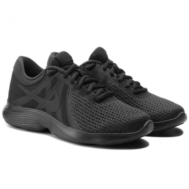 21f4c59a663f7 Shoes NIKE - Revolution 4 Eu AJ3491 002 Black Black - Indoor - Running  shoes - Sports shoes - Women s shoes - www.efootwear.eu
