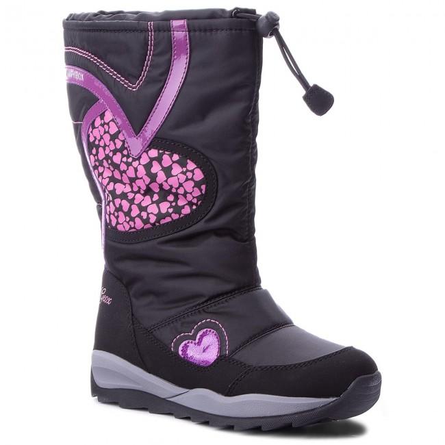 f3b8014e7e Snow Boots GEOX - J Orizont B G.Abx A J842BA 0FU50 C9999 D Black ...