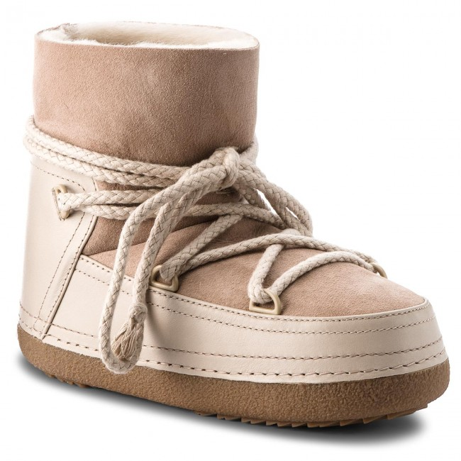 7 Shoes Boot High Classic Boots 70101 Beige Inuikii Winter xqzqTgB