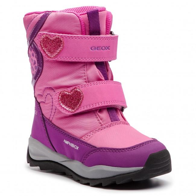 5a35e05261 Snow Boots GEOX - J Orizont B G.Abx E J842BE 0FU50 C8315 M Fuchsia ...