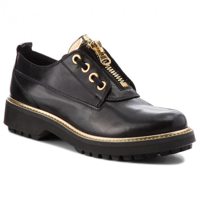 6e3efc66846 Shoes GEOX - D Asheely Plus B D84ACB 00043 C9999 Black - Flats - Low ...