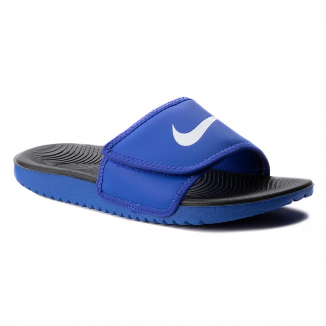 b8de6fad74c9 Slides NIKE - Kawa Adjust (GS PS) 819344 401 Racer Blue White ...