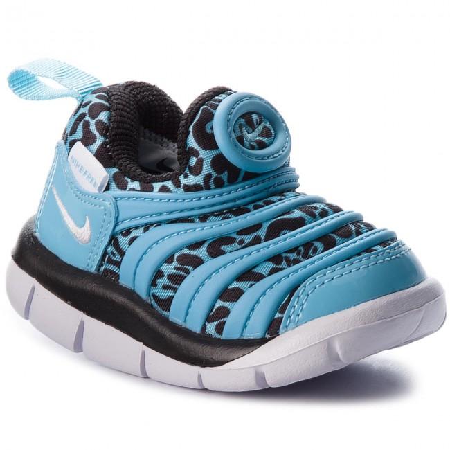 8f00297a3bdf Shoes NIKE - Dynamo Free Print (TD) 834366 402 Blue Gale Black White ...