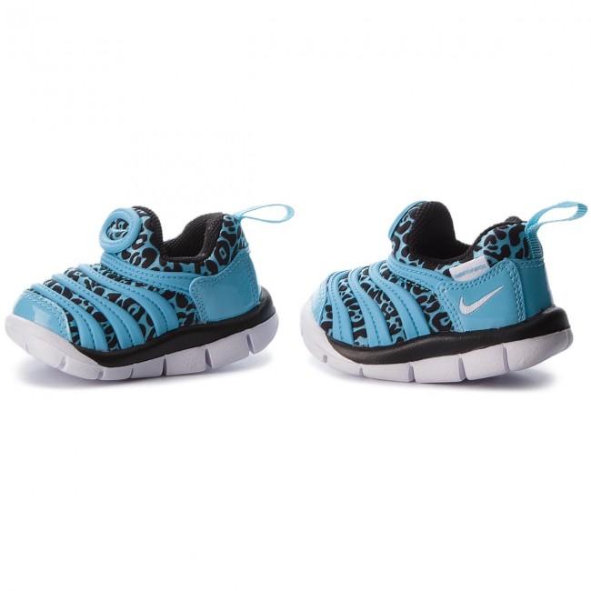 finest selection 342c3 182dc Shoes NIKE - Dynamo Free Print (TD) 834366 402 Blue Gale Black