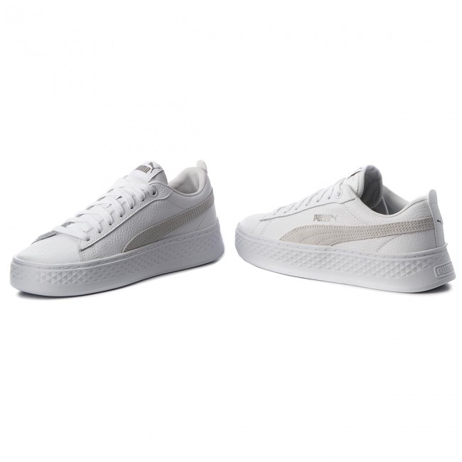 buy popular 138fb aa891 Sneakers PUMA - Smash Platform L 366487 06 Puma White Puma White White