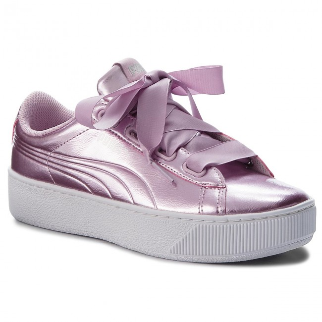 Sneakers PUMA - Vikky Platform Ribbon P 366419 04 Winsome Orchid Wi ... a6d184169