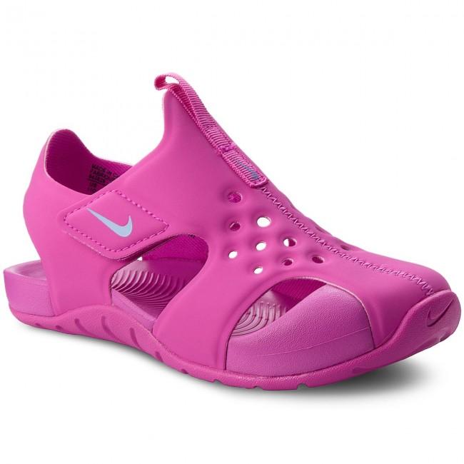 580816aa2 Sandals NIKE. Sunray Protect 2 (PS) 943828 500 Hyper Magenta Royal Pulse